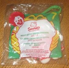 1999 - 2000 Hello Kitty McDonalds Happy Meal Toy - Kimono Plush Clip #7