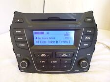 2013 2014 Hyundai Santa Fe Radio XM Bluetooth CD MP3  96170-4Z1004X NAX102
