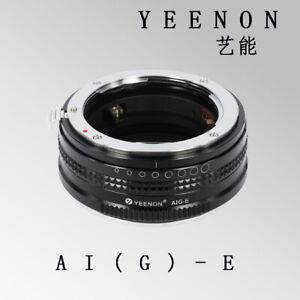YEENON NIKON AI (G ) to SONY E Camera Adapter