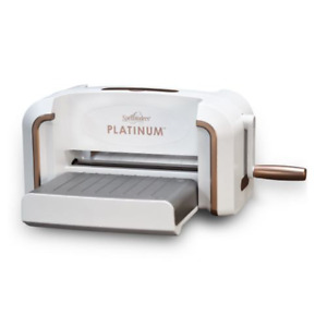 NEW Spellbinders Platinum Cut & Emboss Machine 8.5 Inch Platform PL-001
