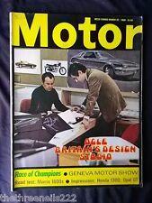 MOTOR MAGAZINE - MORRIS 1800 - MARCH 22 1969