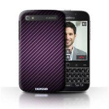 Housses et coques anti-chocs violet en fibre de carbone pour téléphone mobile et assistant personnel (PDA)
