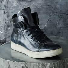 JOHN VARVATOS Mainline Collection Black Mac 315 High Top Sneaker 10.5  $698 !!!