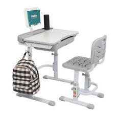 Us Adjustable Children's Desk&Chair Set Kids Study Table Set Desk Birthday Gift