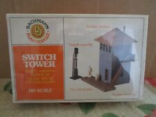 Bachmann, Plasticville, HO, 2632, Switch Tower Kit, Mint, Sealed in OB.