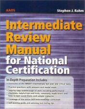 EMT & Paramedic Review Manuals: EMT-Intermediate Review Manual for National AAOS