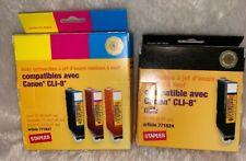 Staples Canon CLI-8 Multi-Pack Inkjet Cartridge ,Yellow Cyan Magenta, Black