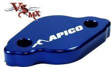 APICO rear brake reservoir cover TM EN/MX125-530 05-18 YAMAHA YZ125 03-18 BLUE
