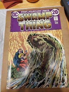 Swamp Thing #1 Bernie Wrightson DC Comics nice copy