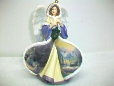 Thomas Kinkade Winter Angels of Light Ornament 2005 Blessings Of Christmas 4th