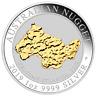 2019 Welcome Stranger 1oz Silver Gilded Coin