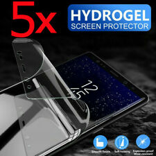 5pcs Screen Protector Silicon Soft Hydrogel Full Coverage Invisible Cover Edge