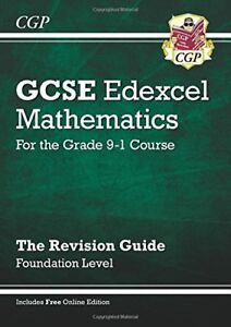 New GCSE Maths Edexcel Revision Guide: Foundation - for the Grade 9-1 Course .