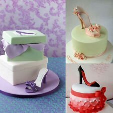 9Pcs High-Heeled Shoes Cake Cutter Mould Sugarcraft Fondant Baking Tool Creative