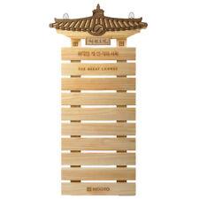 Mooto Taekwondo Belt Display Wood for Korea TKD MMA Martial Arts Judo Hapkido