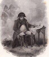 Empereur Napoléon Bonaparte Premier Empire Campagne de Russie 1840