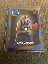 2017 Donruss Basketball FRANK MASON III RATED ROOKIE