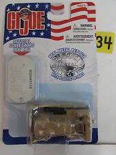 MAISTO G I JOE DIE CAST - BULLDOZER  W/ DOG TAG