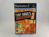 TONY HAWK'S UNDERGROUND 2 SONY PS2 PLAYSTATION 2 PAL ITALIANO ORIGINALE COMPLETO