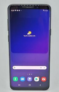 Samsung Galaxy S9+ Plus 64GB Midnight Black Unlocked AU Stock SM-G965F (Pre-Owne
