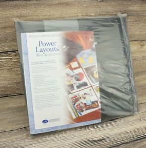 🔥NEW! CREATIVE MEMORIES Power Layouts Box and Guides🔥