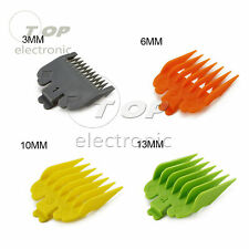 8Pcs 3mm-25mm Universal Hair Clipper Limit Combs Guide Attachment Comb Set