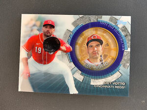 2020 Topps Update Joey Votto TBC-JOV Commeratibe Coin Cincinnati Reds