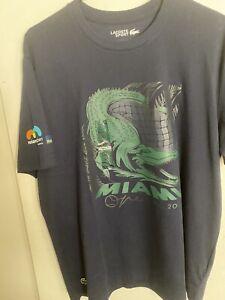 Lacoste Navy Blue Miami Open Tshirt