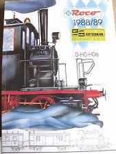 Catalogo ROCO 1988-89 - 0 H0  - ITA - Tr.1