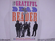 THE GRATEFUL DEAD READER (book-libro) by David G. Dodd and Diana Spaulding