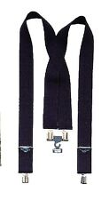 "Black Pants Suspenders, Camo Suspenders, OD Trouser Suspenders - 2"" Wide"