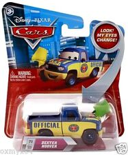 Disney Cars #71 Dexter Hoover w Green Flag Diecast Vehicle Changing Eyes Change!