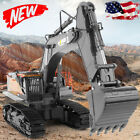 RC Toy 1:14 Mini RC Truck 22 Channel Alloy Excavator Rechargeable RC Excavator
