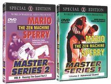 Mario Sperry Master Series 1 & 2 Dvd Combo! New!