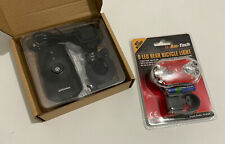 BNIB Bicycle Front and Rear Lights Set - Front wt USB and Helmet Mount  Option
