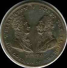 1815  Germany Brandenburg-Prussia Commemorative  Battle of Waterloo  silvered