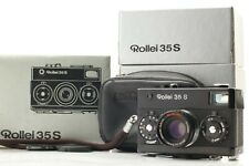 N-Mint 🌟 Rollei 35 S Black 35mm Film Camera + Sonnar 40mm F/2.8 Lens from Japan
