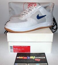 Nike Air Lunar Force 1 SP Clot White Blue Red Sneakers Men's Size 11.5 w/Bag New