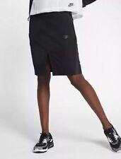 Nike Sportswear Women's Tech Bonded Skirt Black (Sz MEDIUM) 855963 010 Nwt $80