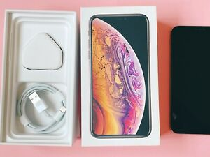 Apple iPhone XS 256GB (Unlocked) Gold - Immaculate Condition With Box