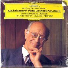 SEALED DGG 1984 DIGITAL Mozart SERKIN Piano Concertos #27 & #8 ABBADO 410 035-1