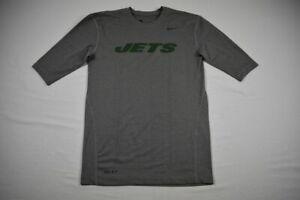 New York Jets Nike Compression Short Sleeve Shirt Men's Used Multiple Sizes