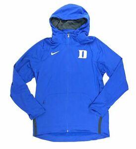 New Nike Men's L Duke Blue Devils Hyperelite Hoodie Blue Full Zip 867762 $120