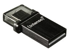 Intenso USB Stick 32GB Speicherstick OTG Mini Mobile Line schwarz Micro USB bulk