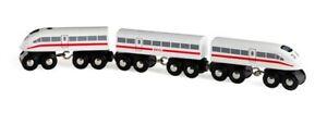 BRIO High Speed Train 33748 Wooden Railway Train with Sound