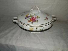 Vintage, KPM, Germany, #67, Flowered, Covered, Casserole
