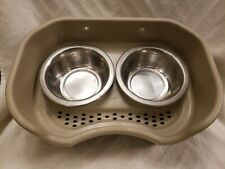 Neater feeder express medium 2 bowls dribble catcher