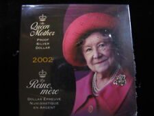 **2002** Queen Mother, RCM Proof Silver Dollar Coin