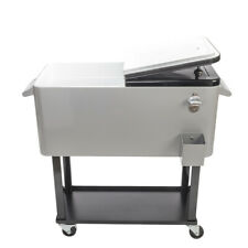 New listing 80Qt Iron Spray Cooler with Shelf