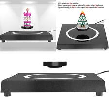 LED Rotating Magnetic Levitron Levitation Floating Plateform Show Display Shelf